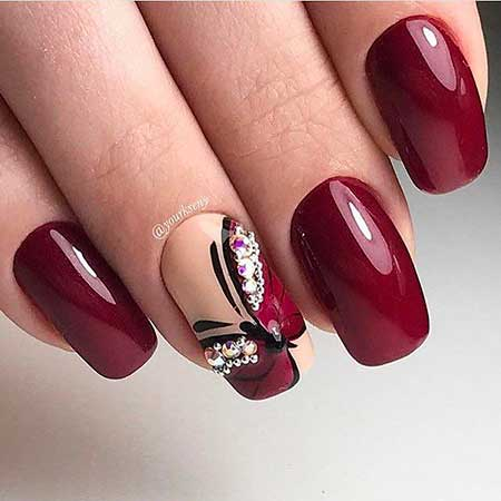 Manicures, Butterfly Nail Art