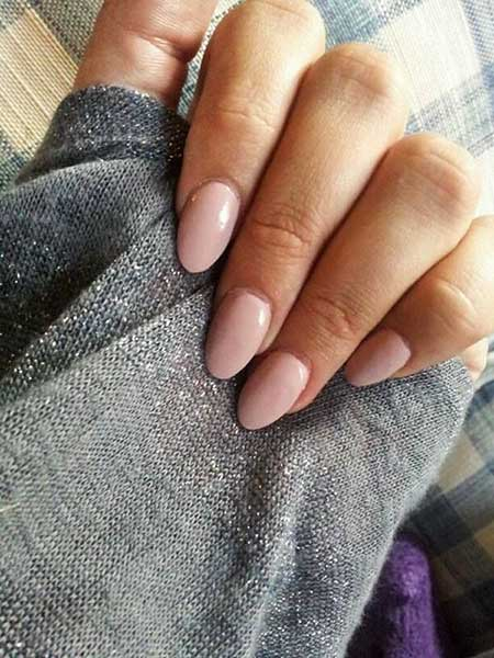 Nude Nails, Pink Nails, Manicures, Pink, Nudes, Oval Nails, French