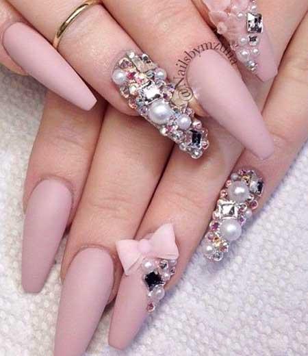 Kawaii Nails, Flower Nail, Pretty Nail, 3D Unicorn Nail Art, Nails