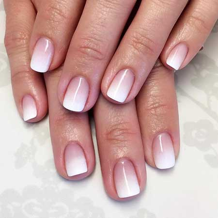 French Manicure, Manicures, French, Frenchails, Ombre French Manicure, French