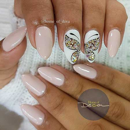 Stiletto Nails, Coffin Nails, Butterfly Nail Art