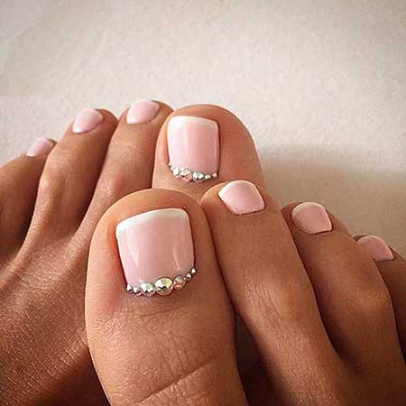 Wedding Nails, Toe Nail, French Manicure, Manicures, French