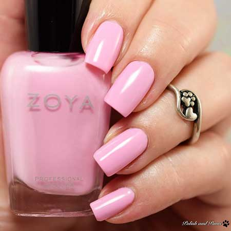 Nail Polish, Polish, Pink, Zoya, Swatch, Color, Pink Nails, Nails