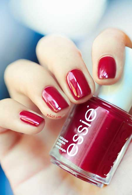 Nail Polish, Polish, Red, Red Nails, Swatch, Red Nails, Collection, Perfect, Essie