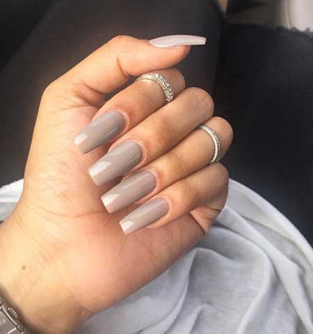 Acrylic Nails, White Nail, Pretty Nail, Claw, Pinterest