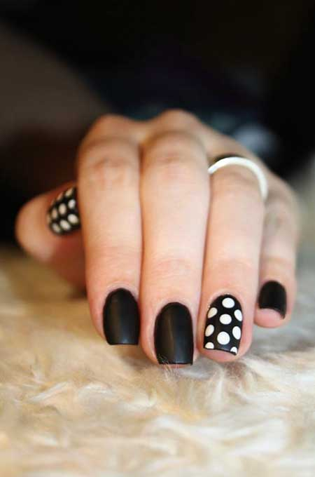 Kiss Nails, Black Nail, White Nail