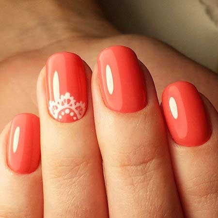 Summer Red Nails, Nail Polish, Polish, Summer Nails, Red, Swatch