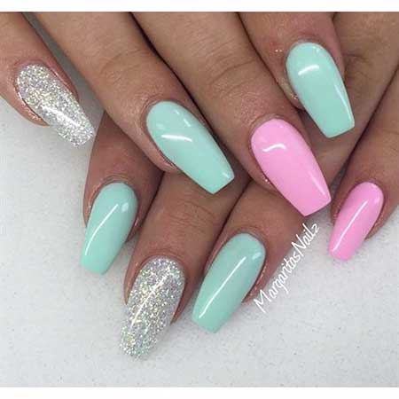 Pink Nails, Coffin Nails, Pink, Acrylic Nails, Stiletto Nails, Nails Summer