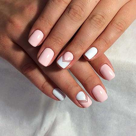 Manicures, French Manicure, Pink Nails, Summer Nails, Chevron
