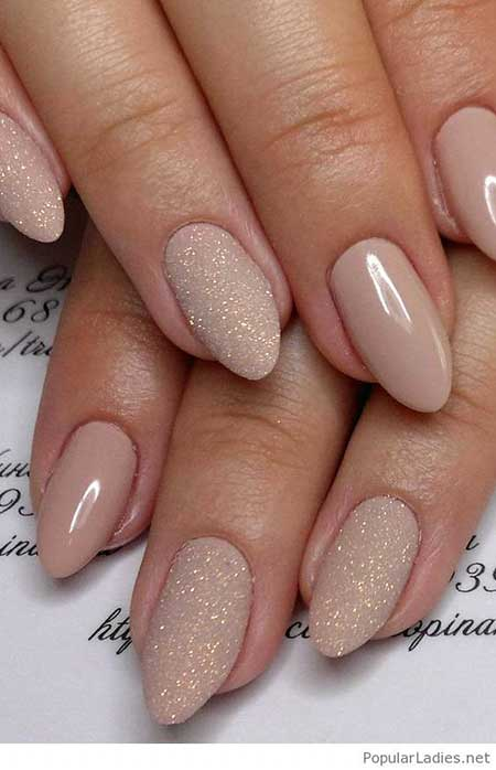 Nude Nails, Wedding Nails, Summer Nails, Trending Nail Colors 2017, Nails