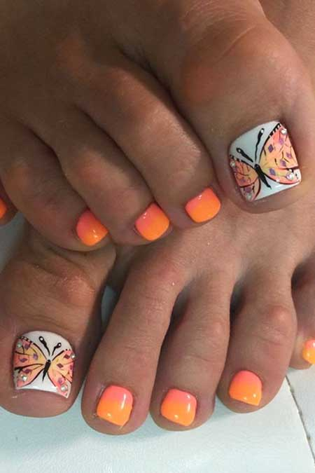 Summer Toe Nail Polish Hession Hairdressing
