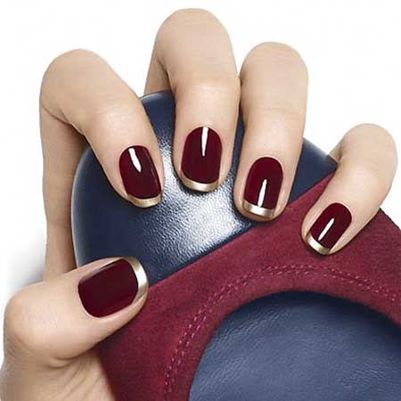 Red Nails, Nail Polish, Half Moons, Manicures, Moon Nails, French Manicure, Fall Nails