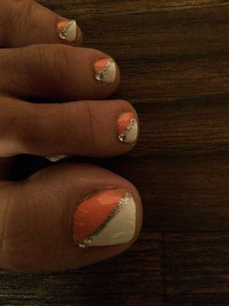 Jamberry, Manicures, Glitter, French, Summer Toe Nail Designs, Art