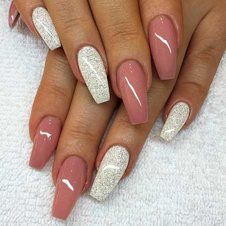 Pink Nails, Coffin Nails, Acrylic Nails, Stiletto Nails