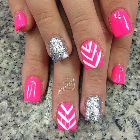 Pink Nails, Pink, Pretty Nail, Summer Nails, Dndang, Love, Nail