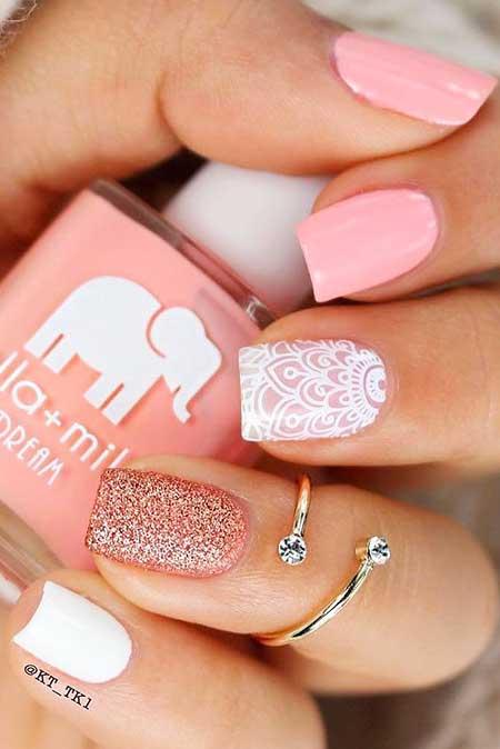 Pink Nails, Pink, Glitter, Pretty Nail, Love, Pink, Shades, Perfect