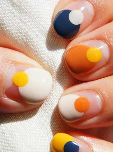 Orange, Orange Nails, Ombre Nail, Summer Nails, Polish, Manicures, Nail Art, Style