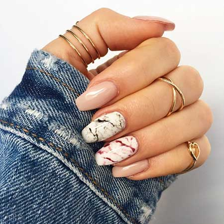 Manicures, Nude Nails, Marble Nails, Summer, Ideas, Design, Nails