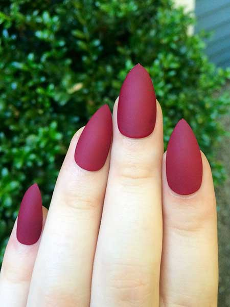 Stiletto Nails, Red Nails, Nail Polish, Pink, Stilettos, Manicures