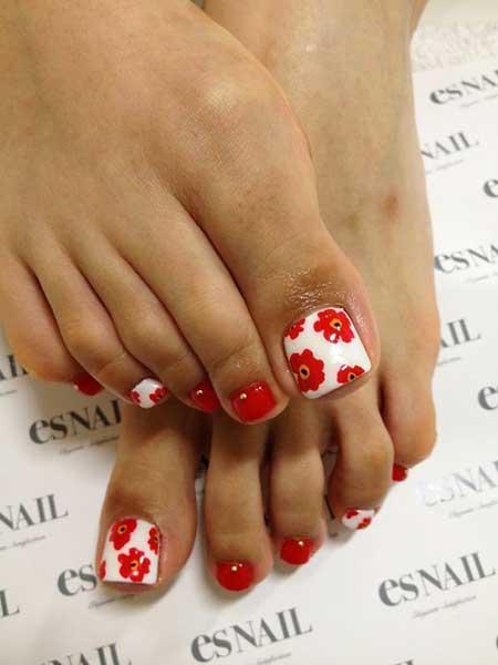 Toe Nail, Toenails, Minnie, Kitty Nail, Minnie Mouse, Designs Of Toenails