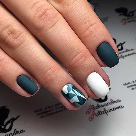 Manicures, Simple Nails, Grey Matte Nails, Love, One, Best, Gallery