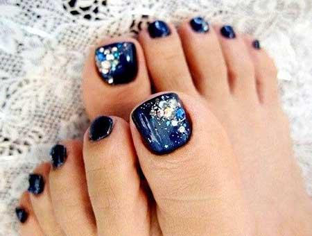 Galaxy Nails, Toe Nail, Galaxies, Nail Art Designs, Blue Toe Nail Designs, Toe