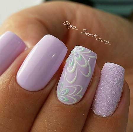 French Manicure, Purple Nail, Lace Nail, Pink Nails, Wedding Nails