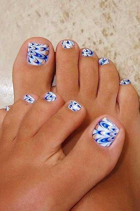 Toe Nail, Blue, Toe Nail Designs, Toe, Beach, Pretty, Designs