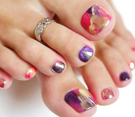 Toe Nail, Design, Pink, Pretty Nail, Nail