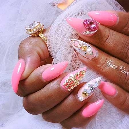 13 best 3d nail art designs nail art designs 2017 3d nail design for wedding prinsesfo Choice Image