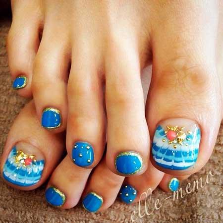 Toe Nail, Pedicures, Toenails, Toe Nail Designs, Nail