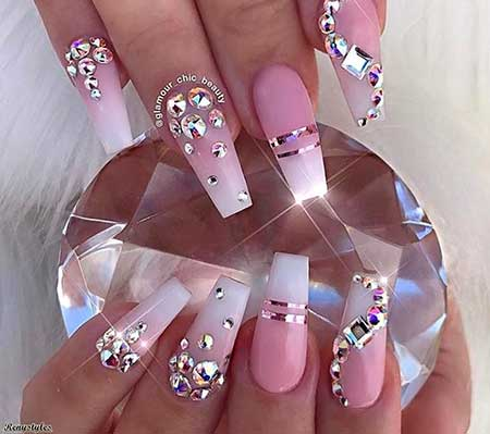 Mermaid Nails, Wedding Nails, 3D Nails, Mermaid Nails, Mermaid, Halloween, Beauty