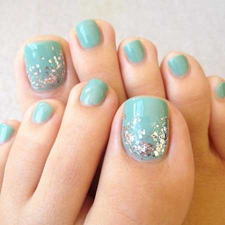 Toe Nail, Toenails, Easy Nail, Summer Nails Litter, Nail Designs For Summer