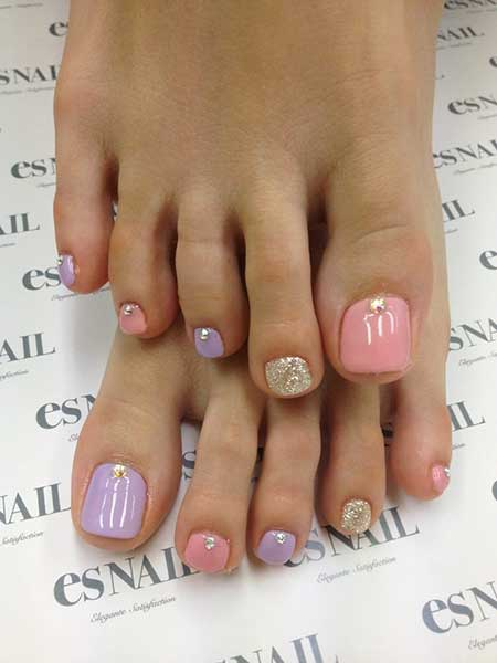 Toe Nail, Nails, Toenails, Summer Toes, Pedicures, Toe Nail Art