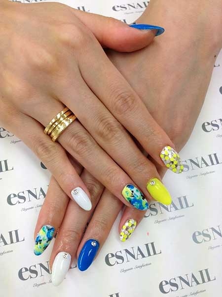 Pastel Nail, Summer Nails, Es Nails, Manicures, Rock N Roll Nails