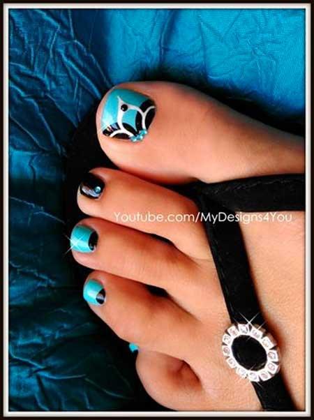 Toe Nail, Manicures, Toe Nail Art, Toenail, Floral, Gallery, Art