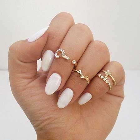Midi Rings, Knuckle Rings, Nails, Pink Nails, Accessories, Jewelry, Nail Ring