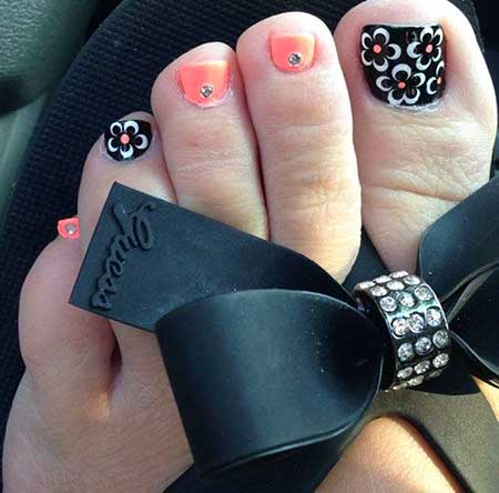 Toe Nail, Christmas Nails, Halloween Nails, Summer Nail Designs 2017