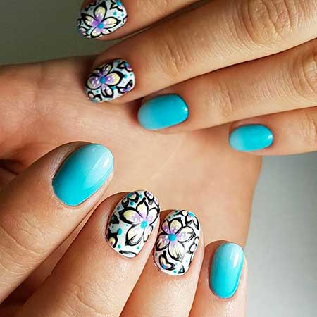 Summer Nails, Nail Polish, Spring, Designs, Nail