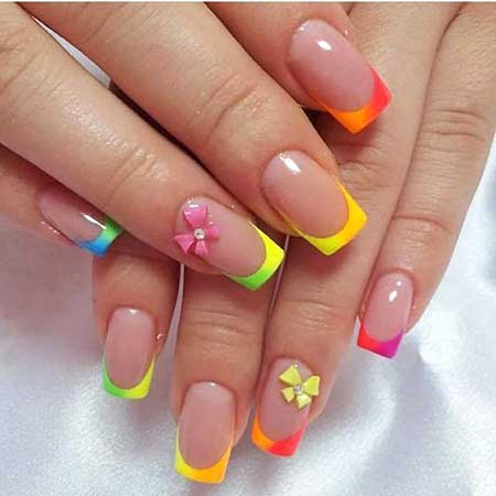 Summer Nails, Neon Nail, Color Nails, Neon, Fashionable Nails Spring 2017