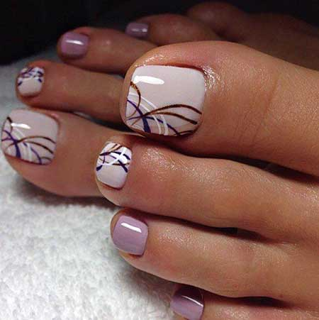 Space Nails, White Nail, Manicures, Classy Toe Nail Designs, Art