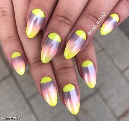 Summer Nails, Neon Nail, Neon, Color Nails, Nail Art, Colors, 2017, Art, Nail