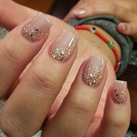 Glitter, Wedding Nails, Christmas Nails, Snowflake Nails, Half Moons