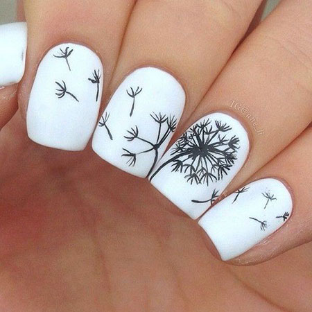 Pretty Nail Design, Nails Nail Floral Flowers