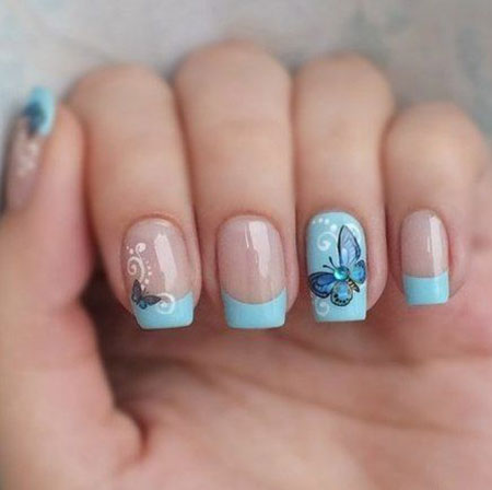 Nail French Manicure Art