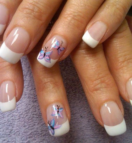 Nail Butterfly Art Nails