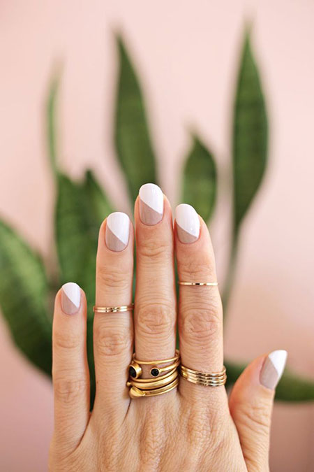 Nail Simple Manicure Nude