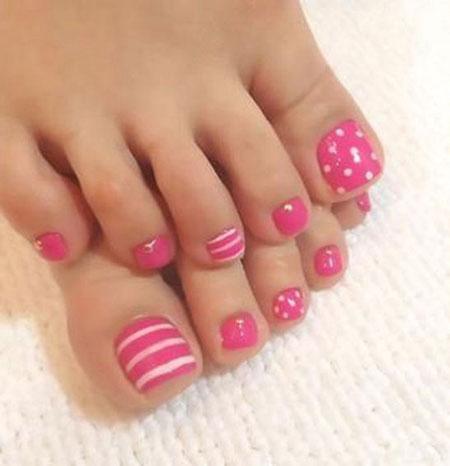 Nail Toe Art Pearl