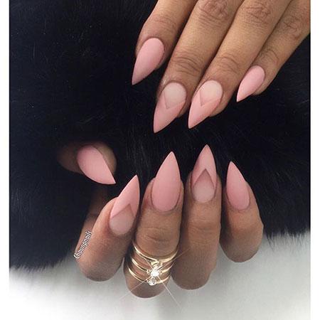 Nail Nails Pink Rose