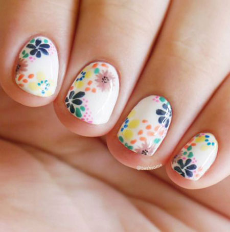 Flower Nails Nail Art
